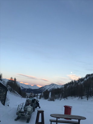 La Thuile - Neve veramente fantastica  - © iphone ?????????