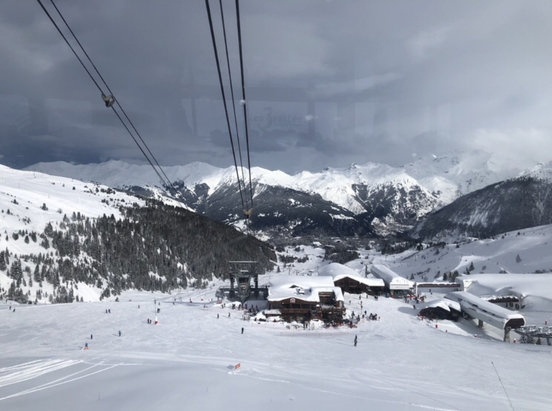 Courchevel - Stunning day after overnight snow dump  - © Anja Faustein's iPhone