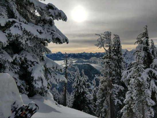 Stevens Pass Resort - cowboy ridge