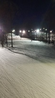 Spring Mountain Ski Area - Bored tonight, but it is 50 degrees.No lines. Couple of dirt spots on Extreme. Grizzly is best tonight.  - © ChoochCharlie