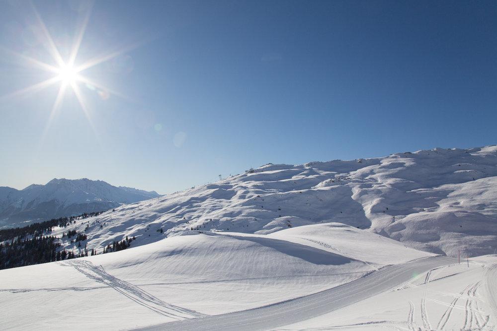 Eindrücke aus dem Skigebiet Flims Laax - © Skiinfo