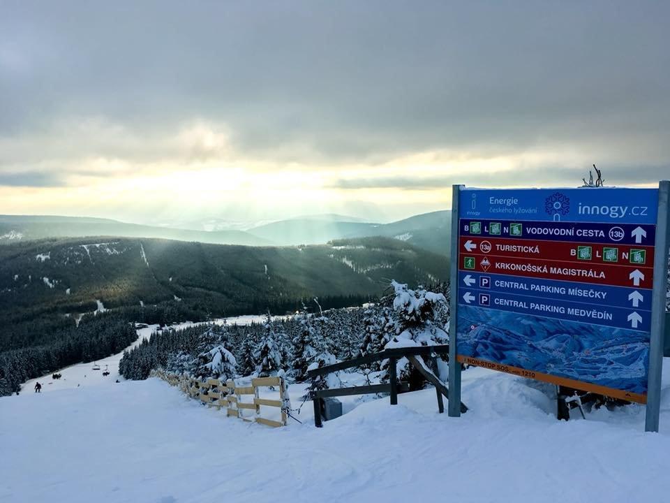 Špindlerův Mlýn 13.-14.1.2018 - © facebook Skiareál Špindlerův Mlýn