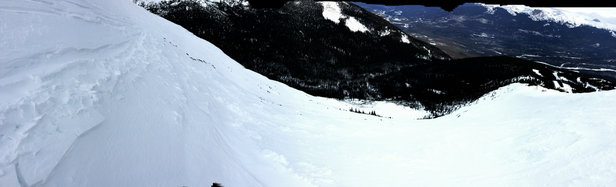 Marmot Basin - Love the new terrain on tres hombres.  - © iPhone