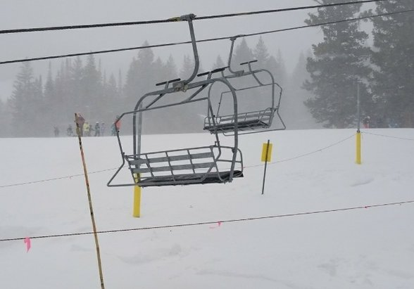 Brighton Resort - it's dumping!!! Jan 25 3 pm - © anonymous