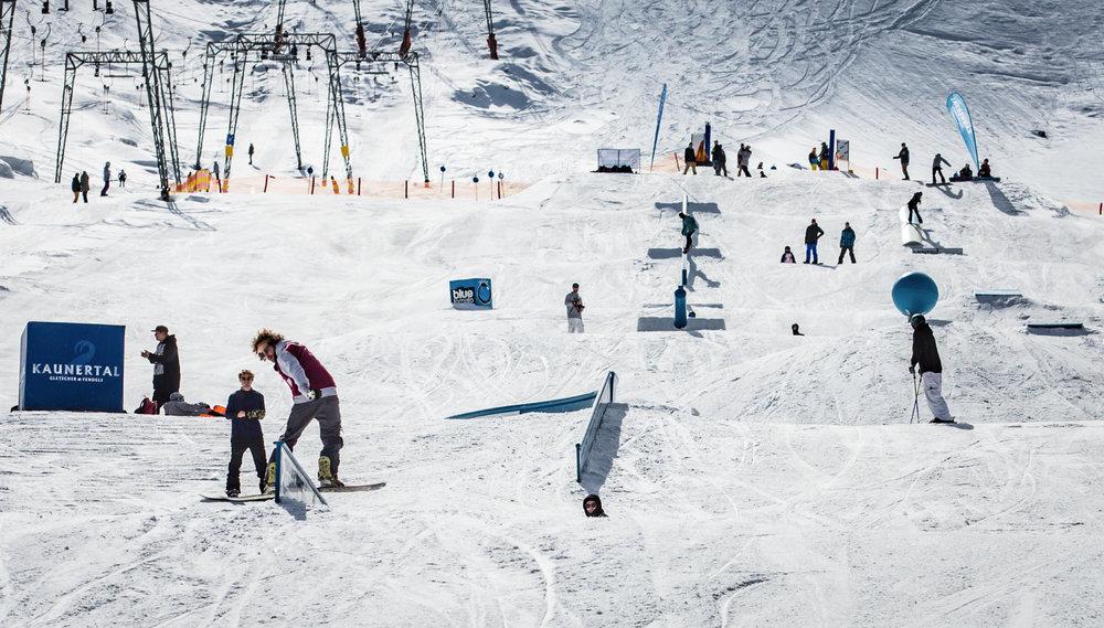 snowpark kaunertaler glacier - © Kaunertaler Gletscher | Daniel Zangerl