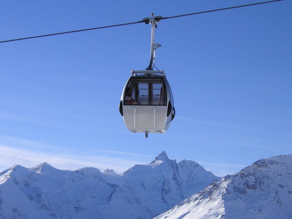 Schareck Gondelbahn im Skigebiet Heiligenblut