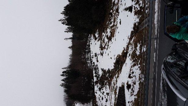 Feldberg Wintersportzentrum - besser zu Hause bleiben  - © Anonym