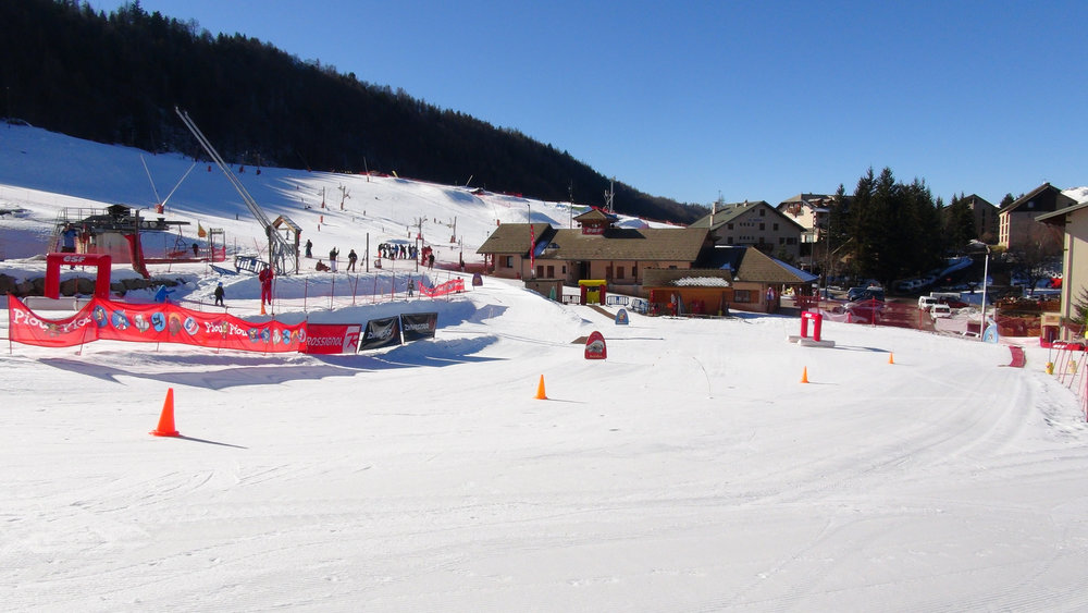 Le Club Piou Piou de Saint Léger les Mélèzes, l'espace d'apprentissage du ski pour les plus petits... - © Stéphane GIRAUD-GUIGUES / Skiinfo