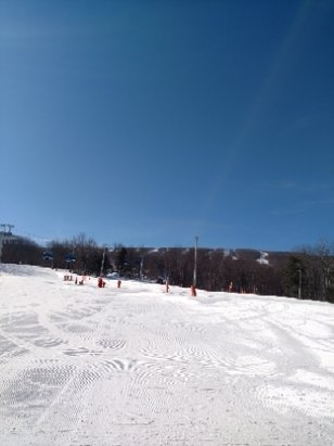 Belleayre - excellent condition perfect ski weather no lines  - © anonymous