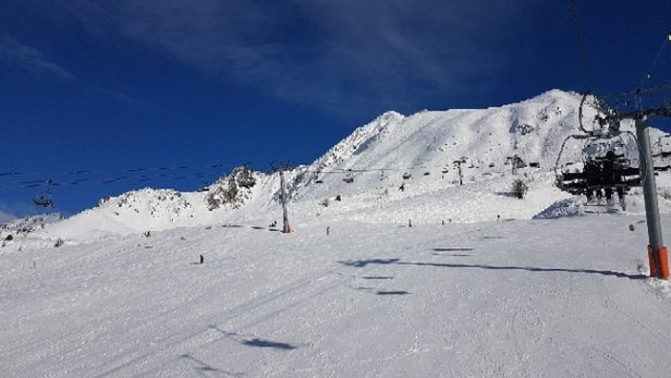 Les Arcs - beautiful day amazing snow conditions  - © anonymous
