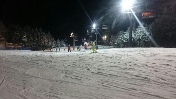 Zieleniec Ski Arena - trasa ok. trochę muld i trochę lodu, trzeba wiedzieć którędy jeździć. pozdrawiam  - © Anonim