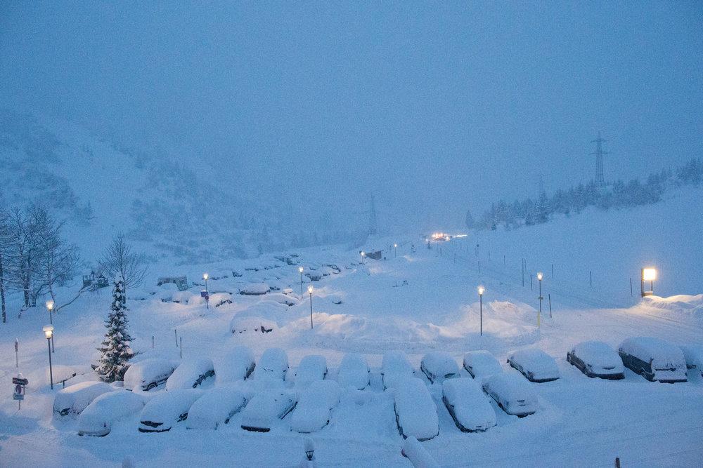 In Stuben muss man sich selten über zu wenig Schnee beklagen - © Stuben Tourismus