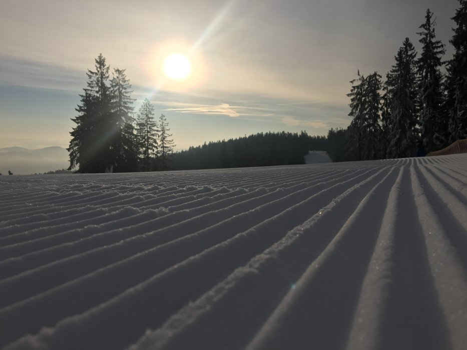Skiareál Lipno 15.2. - © facebook Skiareál Lipno