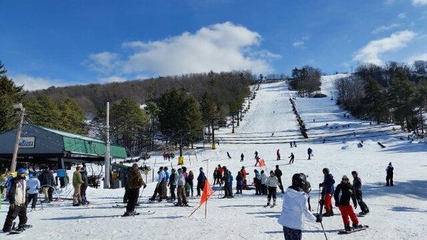 Tussey Mountain - Ski the Tuss! Rockin it  - © Da'Man