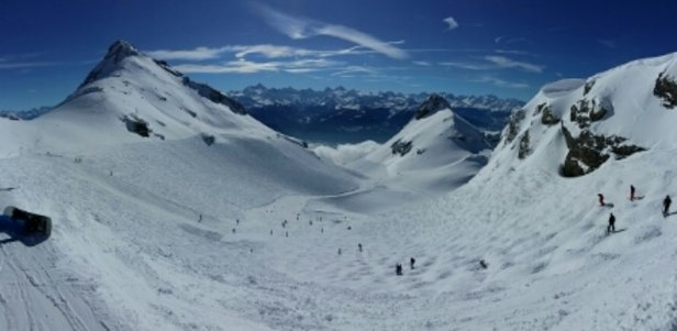 Crans Montana - Fantastic day today. - © anonymous