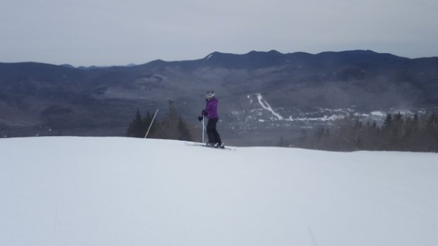 Waterville Valley - Saturday 2/17/18 beautiful day at Waterville. 1st time there. The mountain was hard and fast and skied off hard pack by the end of the afternoon.  - © LosAlamos