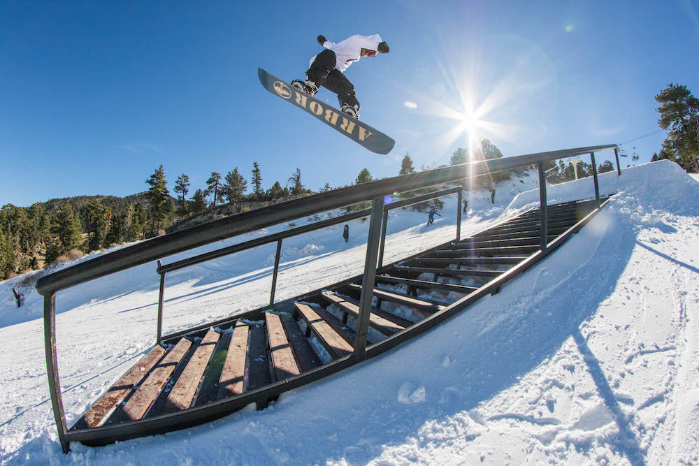 Jib sesh at Big Bear. - © Big Bear