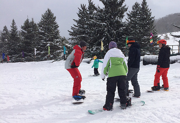 Take a Lesson with a Pro for More Fun - © Jane Eshbaugh, Holiday Valley Resort