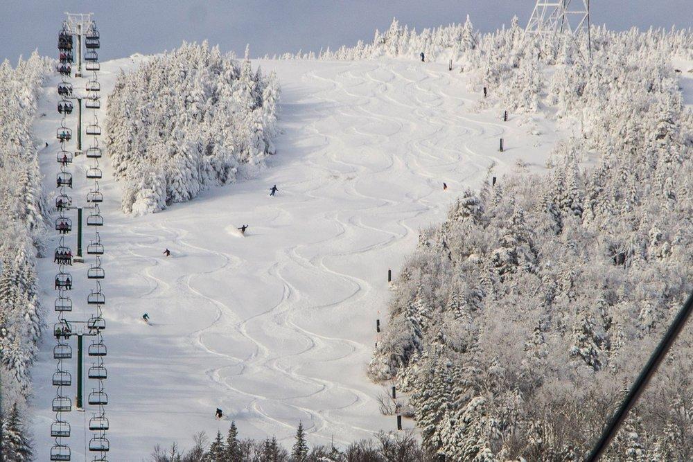 "Jay Peak got 12""-14"" in 24 hours out of Winter Storm Grayson.  - © Jay Peak"