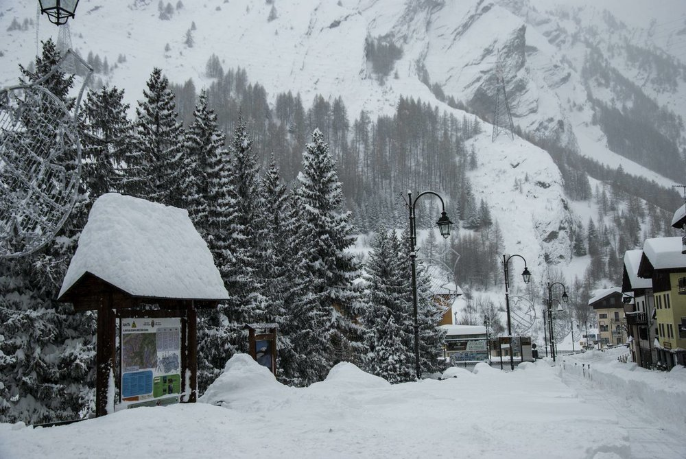 La Thuile 11.12.17 - © La Thuile Valle d'Aosta Facebook
