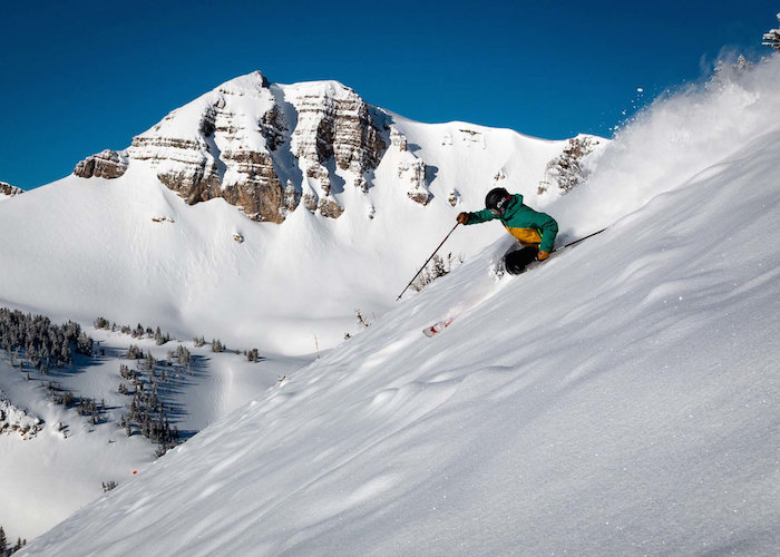 Jackson Hole Mountain Resort offers the perfect combination of legendary terrain and breathtaking views. - © VisitJacksonHole