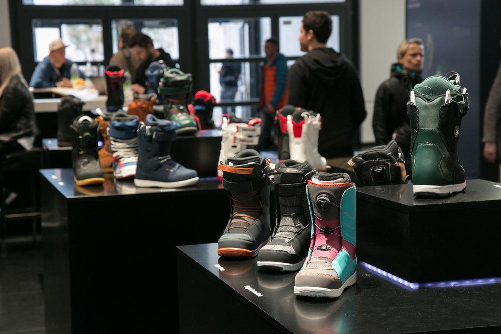 Snowboard boots, Ispo 2018 - © Skiinfo | Sebastian Lindemeyer