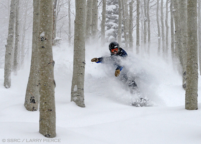 Many claim that Steamboat's Champagne Powder® is some of the best snow on the planet. - © Larry Pierce