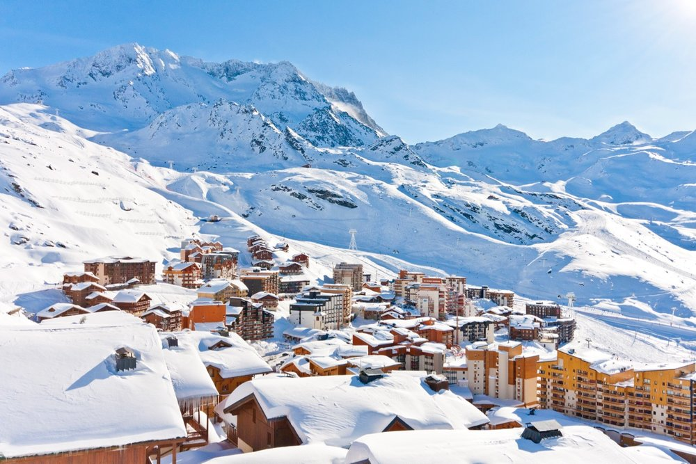 High-altitude Val Thorens was one of the most searched destinations this week - © OT Val Thorens - C. Cattin