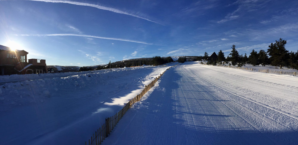 A vous les pistes de ski du Bleymard Mont Lozère !  - © Station du Bleymard Mont Lozère
