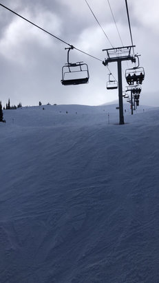 Whistler Blackcomb - #gurtlife...snowed like cray. Smeared mayo on plinko #5. Robin Leach, champagne snow dreams came true. Alpine was fluff-nasty with no waiting. in line - © U cAn smEll iT