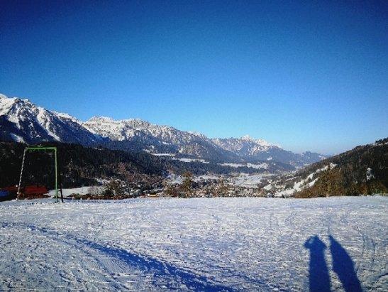 Schladming - Planai - Hochwurzen - Piste super, Wetter war heute sehr sch - © Martina
