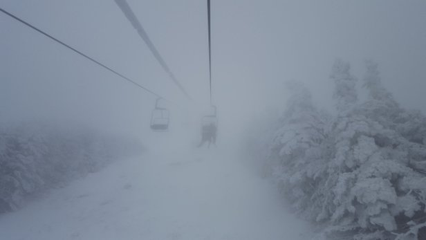 Smugglers' Notch Resort - 3/3/18.....Pea Soup! - © LosAlamos