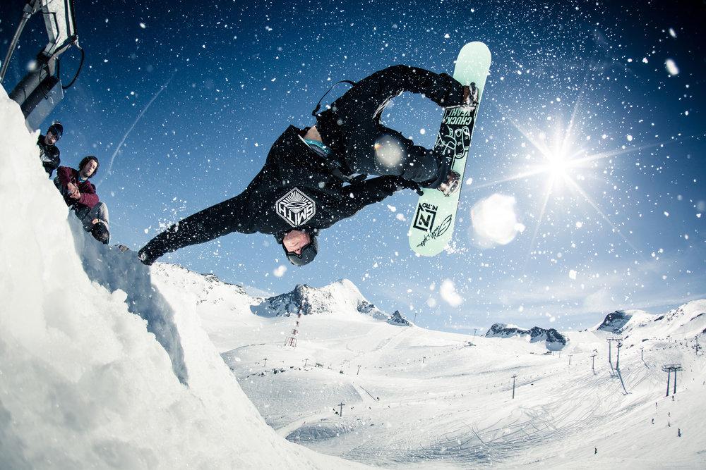 Snowpark Action Kitzsteinhorn - © Markus Rohrbacher