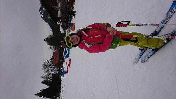 Oberjoch - Trotz der 7grad Plus ein super Skigebiet  - © Anonym