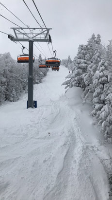 Okemo Mountain Resort - lots of good snow to be found! - © TJ