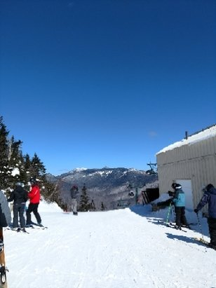Loon Mountain - Wonderful conditions today!! Well groomed! A little chilly-thanks for the Gondy!!! - © anonymous