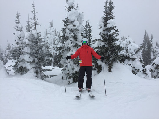 Sun Peaks - Great three days is spring skiing. Hill is in great shape. Looking forward to one more day tomorrow  - © iPhone