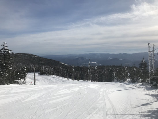 Whiteface Mountain Resort - Never seen better conditions at Whiteface than this week, get here before it warms up. - © iPhone