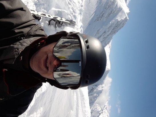 Luz Ardiden - beaucoup de neige et de belles pistes - © Double astuce