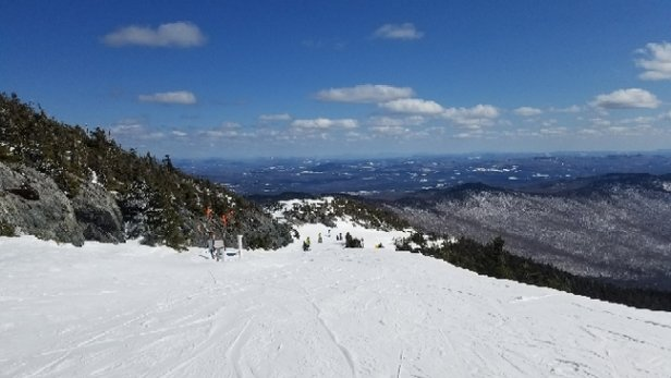 Jay Peak - Still great conditions yesterday and today. Not sure after the rain tomorrow     - © anonymous