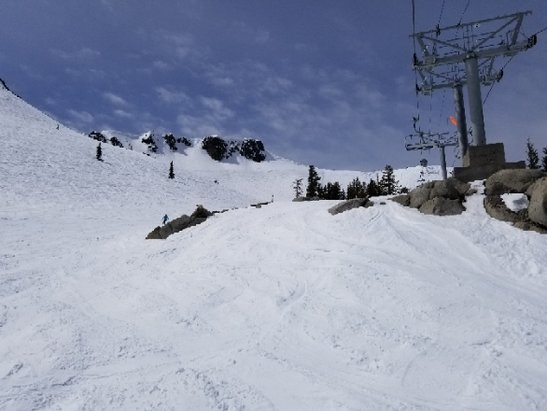 Squaw Valley - Alpine Meadows - First time at Squaw. Pretty nice spring conditions. - © anonymous