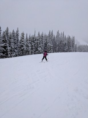Winter Park Resort - lots of fresh heavy snow..no one here!! - © anonymous