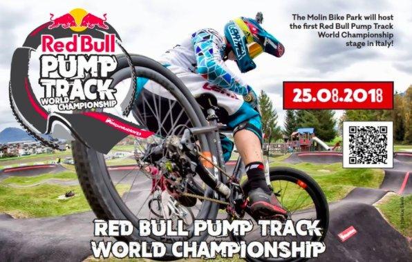 A San Martino di Castrozza arriva l'unica tappa italiana del Red Bull Pump Track World Championship