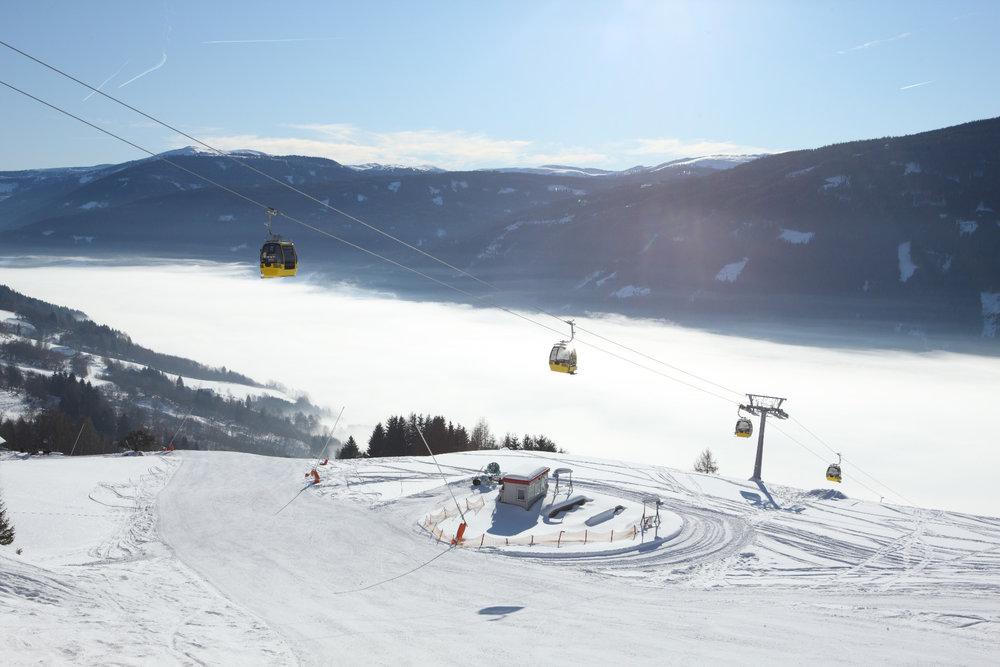 Sonnenbahn im Skigebiet Großeck-Speiereck - © Bergbahnen Lungau