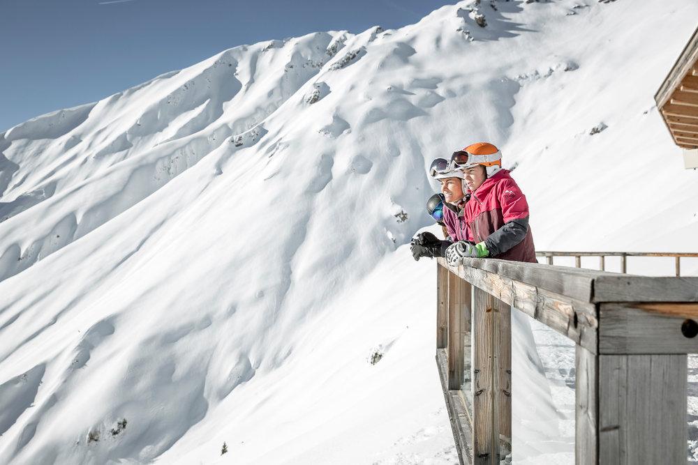 Toller Ausblick im Skigebiet Hoch-Imst - © Imster Bergbahnen | Rudi Wyhlidal