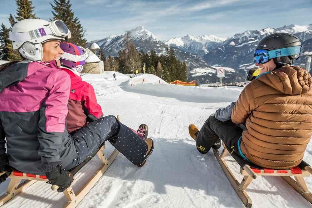 Start zur Rodelpartie in Hoch-Imst - © Imster Bergbahnen | Rudi Wyhlidal