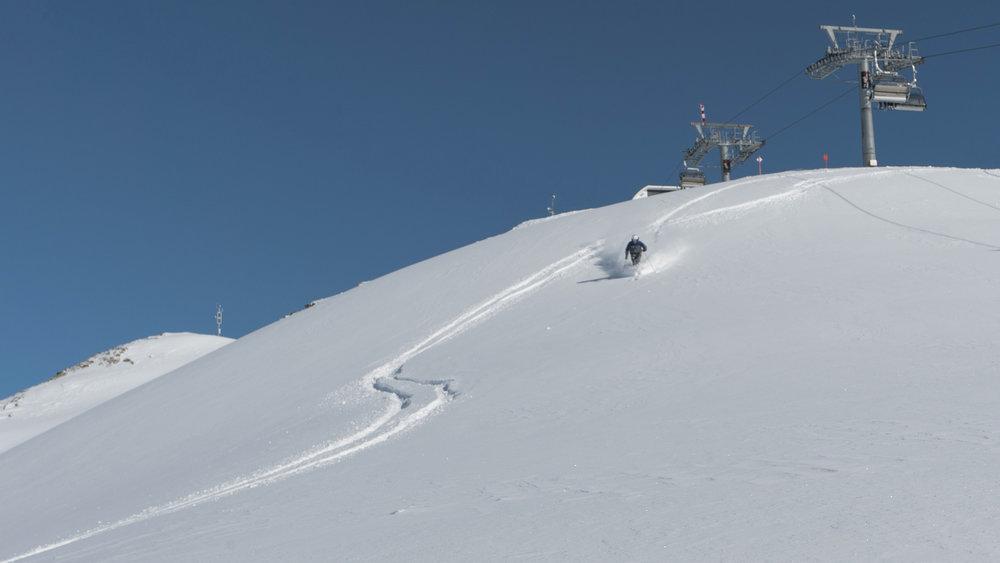 Frischer Powder im Skigebiet Kappl - © © TVB Paznaun - Ischgl