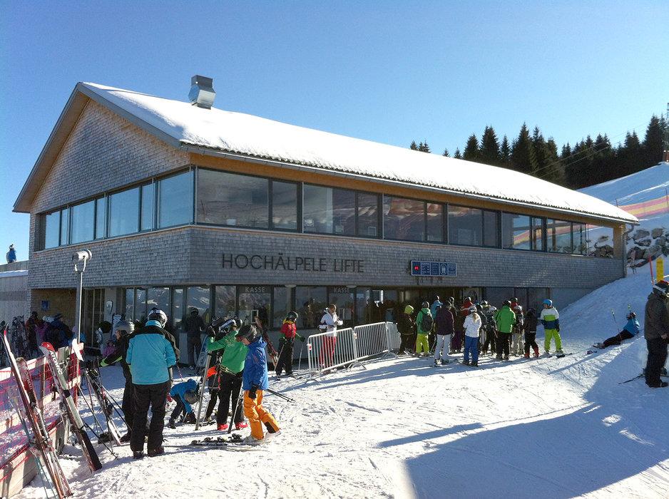 Skigebiet Schwarzenberg-Bödele - © http://www.boedele.info