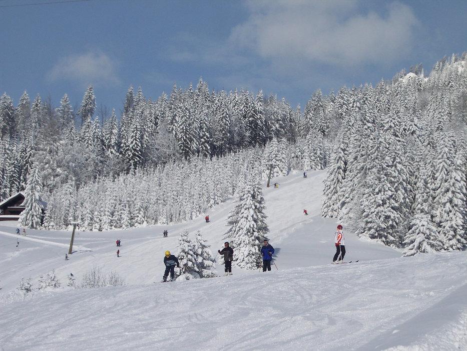 Eindrücke aus dem Skigebiet Sonnberglifte