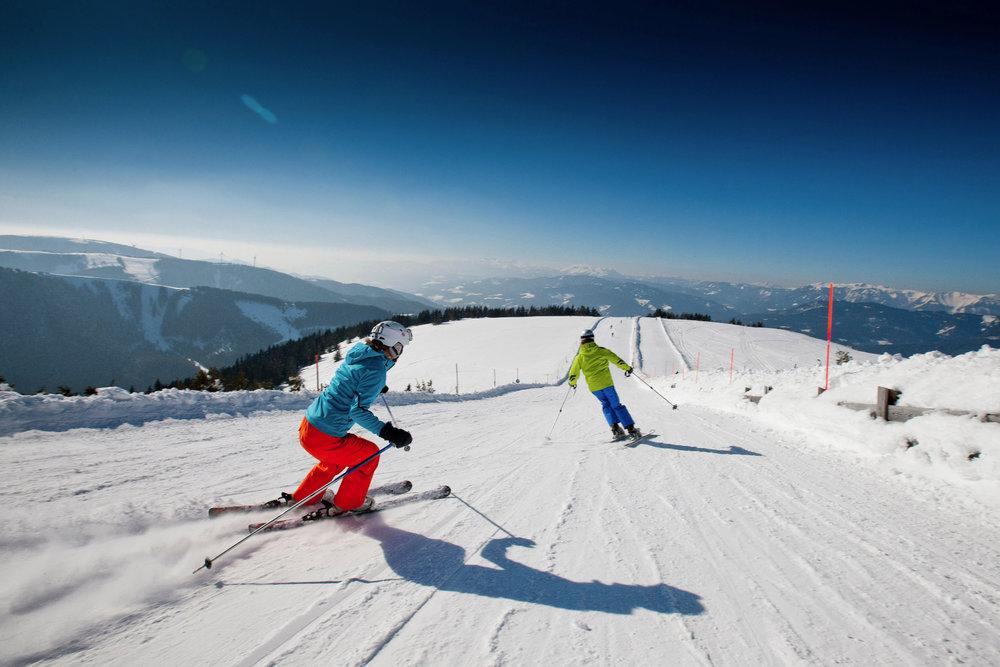 Impressionen aus dem Skigebiet Stuhleck - © Hochsteiermark Tourismus | Tom Lamm
